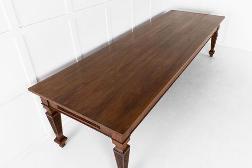 Large 19th Century Italian Walnut Dining Table (1 of 8)
