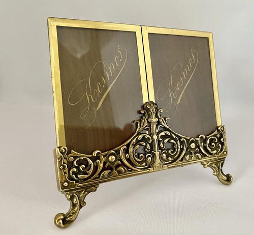 Pretty Brass Frame c.1920 (1 of 5)