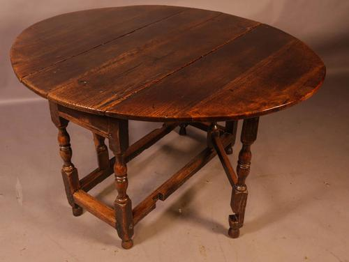 17th Century Gateleg Dining Table c.1680 (1 of 13)