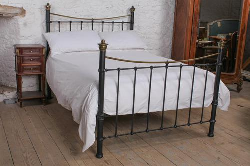 Classic Edwardian Dip Rail Brass and Black (1 of 6)