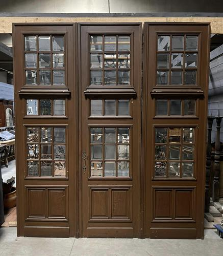 Incredible Set of 3 French 19th Century Chateau Doors (1 of 13)