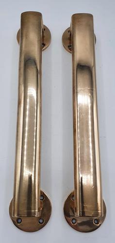 Top Quality Pair of Edwardian Bronze Door Handles or Pulls (1 of 3)
