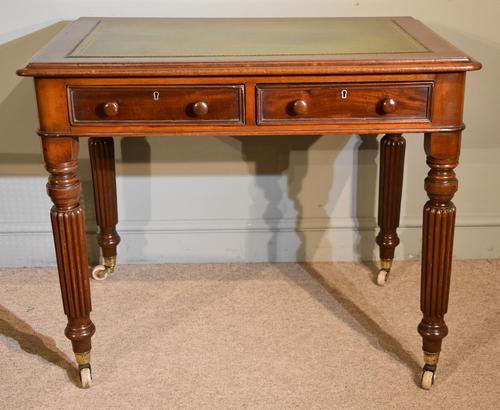 William IV Mahogany Small Writing Table (1 of 6)