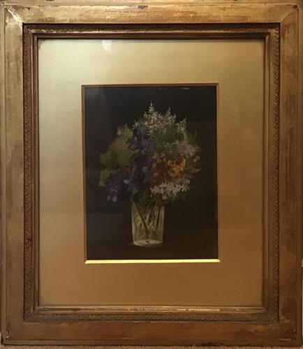 Ada Whaley Bell  1880 -1903 Oil on Canvas  Still Life Flowers (1 of 5)
