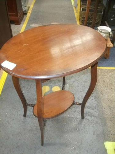 Two Tier Oval Window Table (1 of 3)
