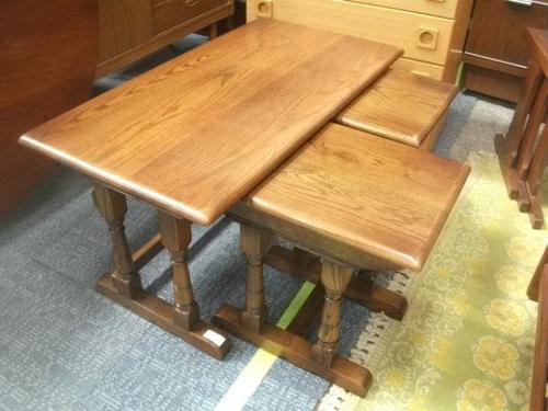 Old Charm Coffee Table Nest (1 of 2)