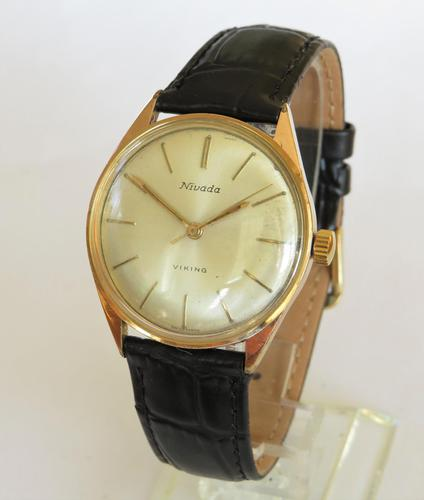 Gents 1960s Nivada Viking wrist watch (1 of 5)