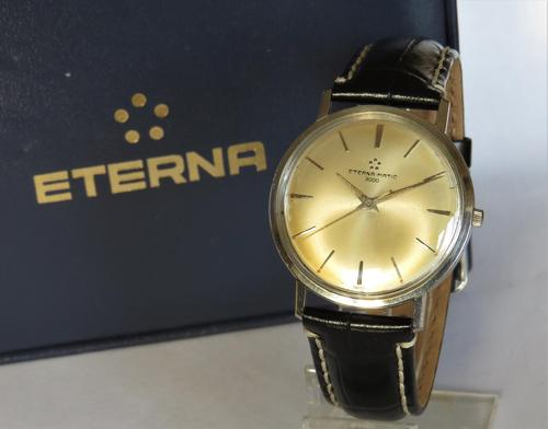 Gents Eterna-Matic 3000 wrist watch (1 of 5)