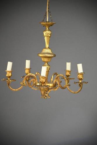 French Gilt Chandelier (1 of 12)