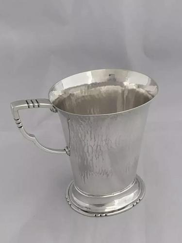 Antique Silver, Arts & Crafts Beer Mug 1937 (1 of 11)