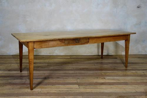 A 19th Century French Fruitwood Farmhouse Table (1 of 5)