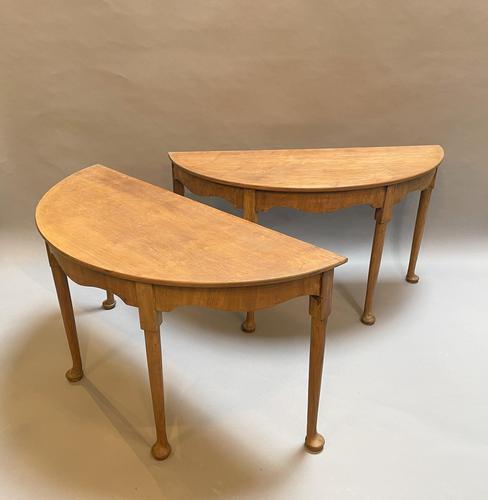 Console Tables Pair of Georgian Mahogany (1 of 12)