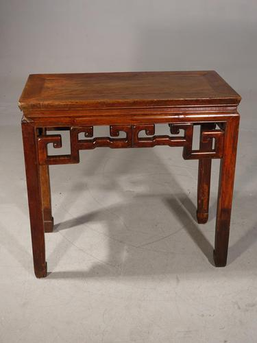 Early 20th Century Oriental Half-Table (1 of 5)