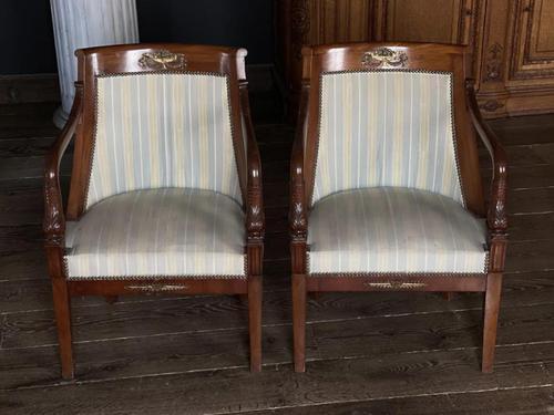 Splendid Pair of Empire Armchairs (1 of 19)