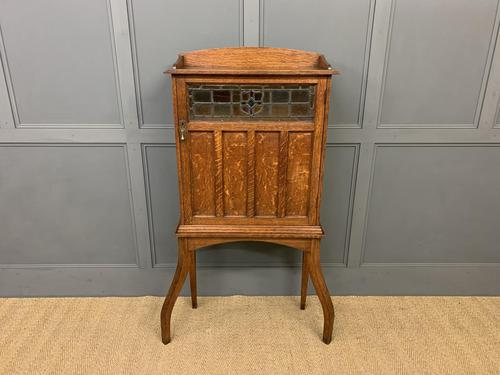Arts and Crafts Oak Cabinet c.1890 (1 of 11)