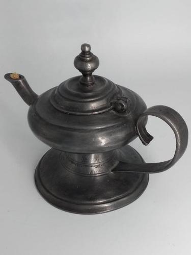 Pewter Oil Lamp (1 of 4)