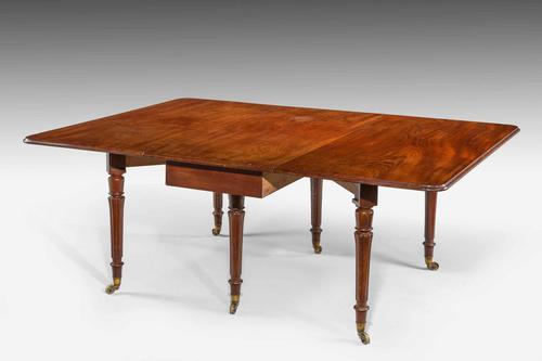 Regency Period Mahogany Dining Table (1 of 5)