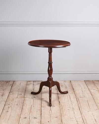 George III Mahogany Tripod Table (1 of 6)