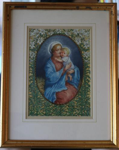 Madonna and child by Violet Beatrice Bell (1 of 5)
