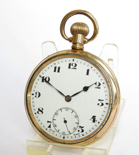 Antique 1920s Record Pocket Watch (1 of 5)