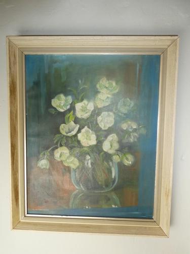 Oil Painting Vase of Flowers (1 of 7)