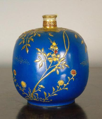 Beautiful Japanese Meiji Period Vase (1 of 7)