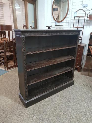 Antique Open Front Bookcase (1 of 6)