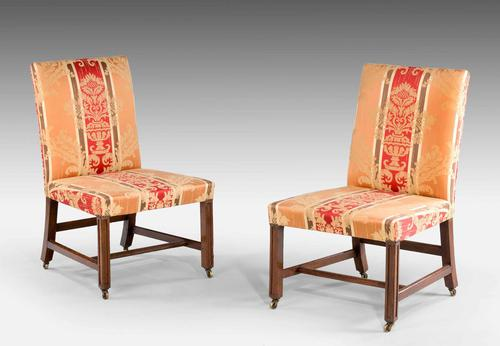 Pair of 18th Century Chippendale Period Side Chairs (1 of 3)