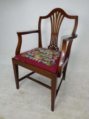 English Needlepoint Armchair (1 of 7)
