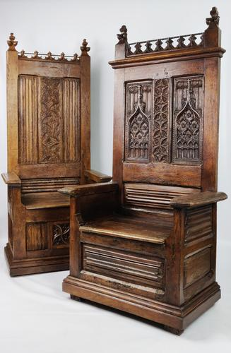 Two 16th Century Throne Chairs (1 of 20)