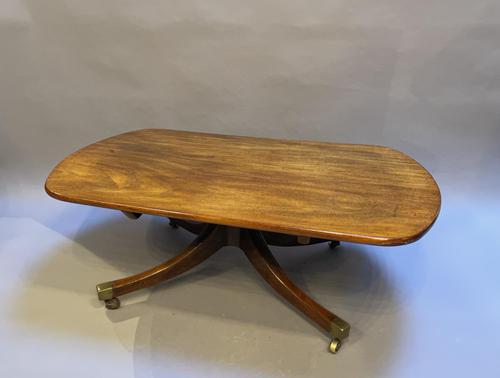 19th Century Mahogany Coffee Table (1 of 6)