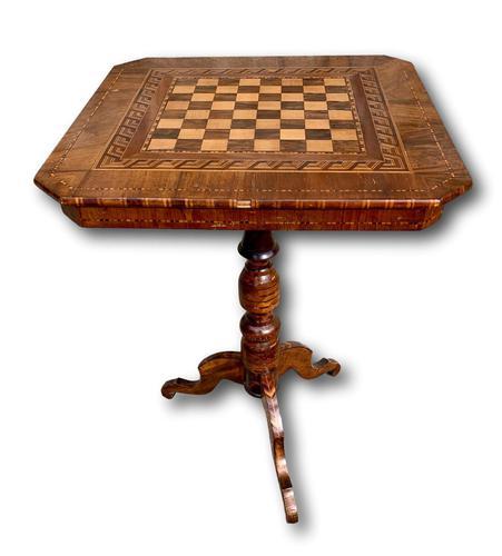 19th Century Italian Sorrento Table (1 of 4)