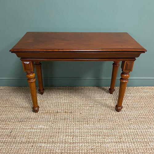 Spectacular Victorian Mahogany Antique Console Table (1 of 6)