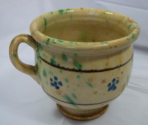Antique 19th century Rustic Italian Chamber Pot (1 of 3)