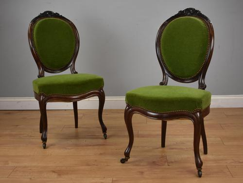 Pair of Continental Carved Chairs (1 of 13)