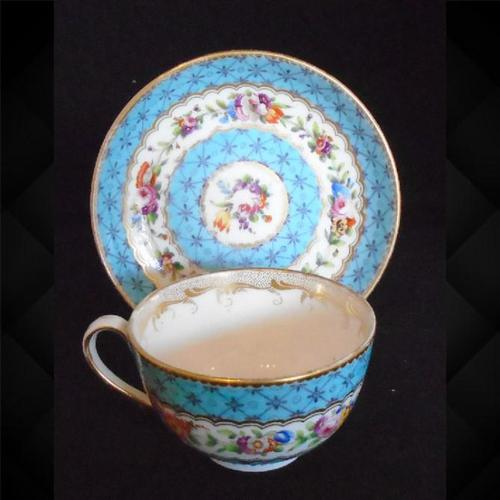 Nantgarw Cup & Saucer (1 of 12)