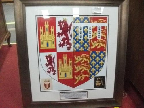 Framed Historic Coat of Arms - Royal Baron (1 of 2)