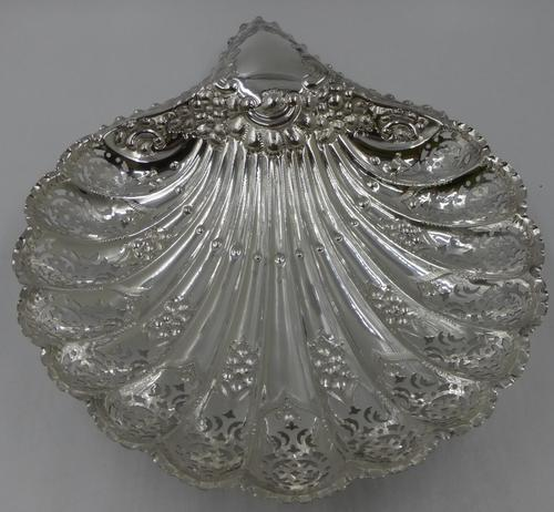 Antique Silver Shell Dish - Sheffield 1901 (1 of 6)