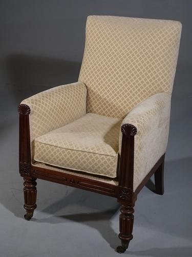 A Very Good Quality Regency Period Armchair (1 of 4)