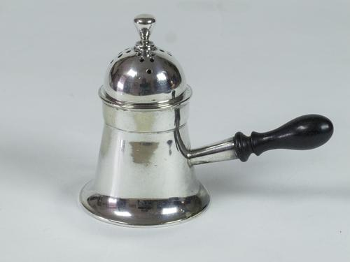Early Victorian Ladies Wig Powder Shaker / Pounce Pot (1 of 5)