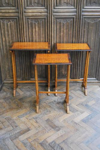 A Nest of Three Antique French Tables (1 of 6)