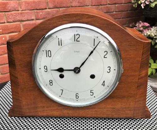 Elegant Mid-1940's English Striking Mantle Clock by Smiths-Enfield (1 of 6)