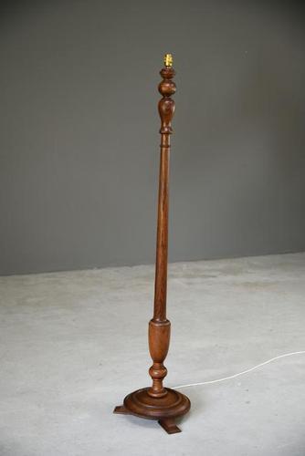 Walnut Standard Lamp (1 of 5)