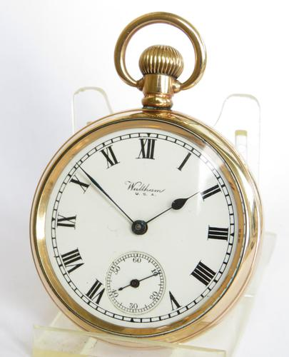 Vintage 1930s Waltham Pocket Watch (1 of 5)