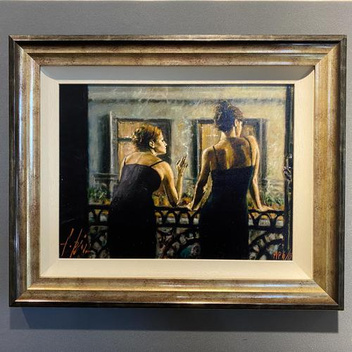 """Fabian Perez Hand Embellished Artists Proof Print """"Cenisientas of the Night"""" with Certificate of Authenticity (1 of 6)"""