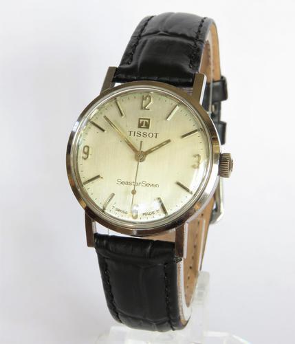 1960s Mid-size Tissot Seastar Wrist Watch (1 of 4)