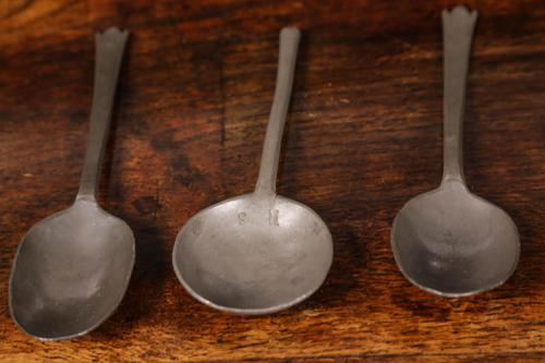 Three Pewter Spoons (1 of 3)
