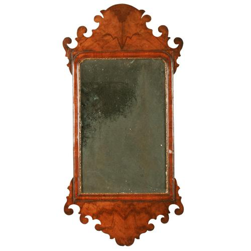 18th Century Style Walnut Mirror (1 of 8)