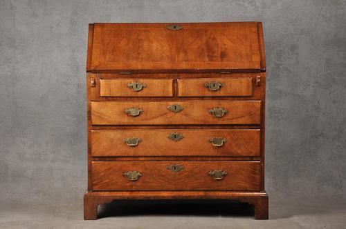Early 18th Century Walnut Bureau (1 of 15)