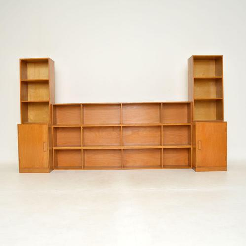 1950's Vintage Oak Stacking Bookcase by Unix (1 of 10)